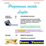 programma sociale luglio 2019